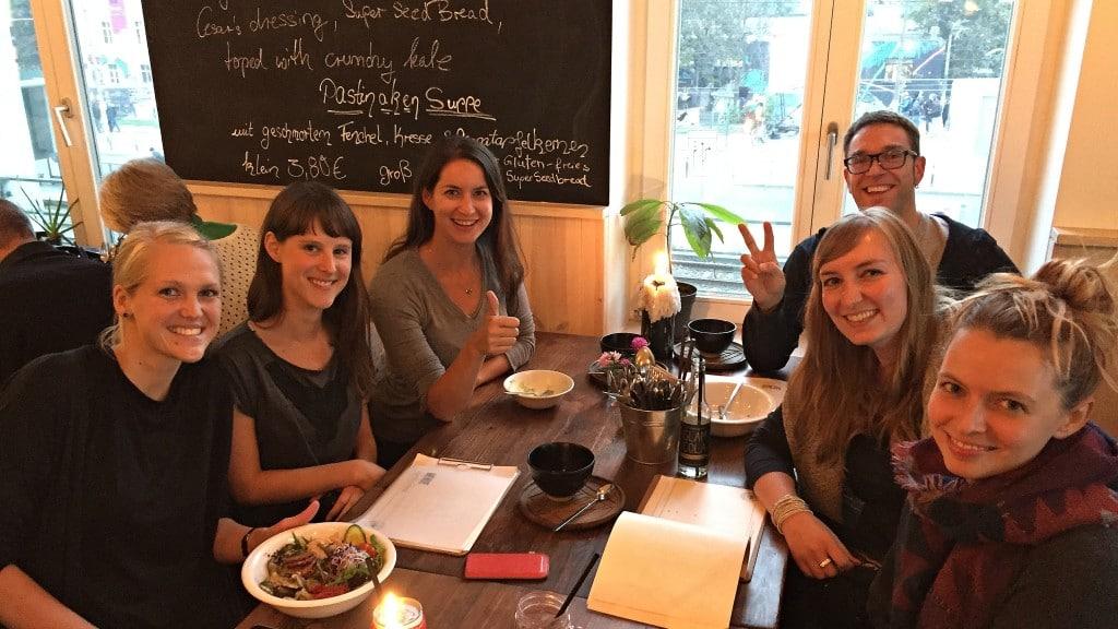 Vegan Challenge Treffen in Berlin