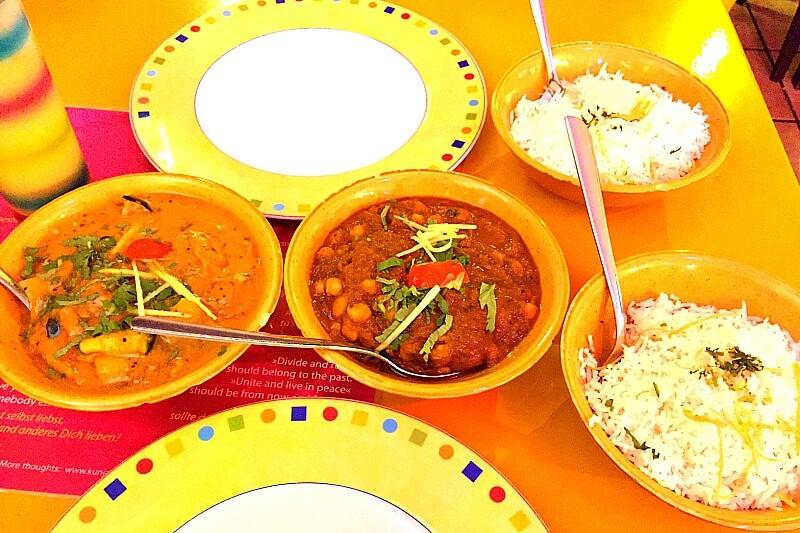 Vegan Essen München Indian Mango indisches Essen