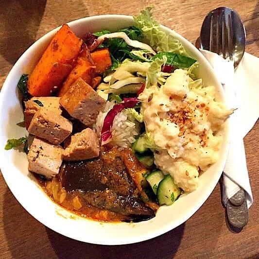 Vegan Essen München Tushika Teehaus Bowl