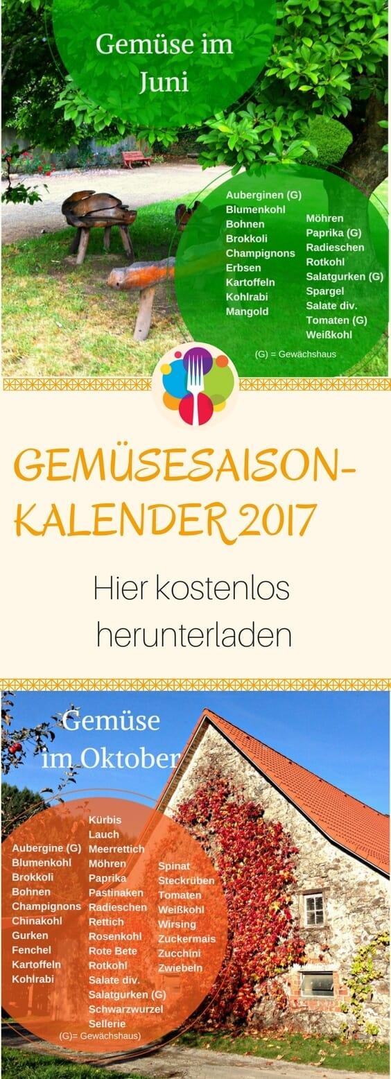 Gemuesesaisonkalender