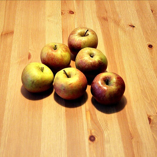 Veganer Apfelkuchen Aepfel