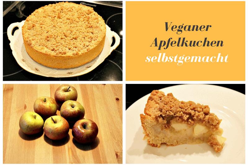 Veganer Apfelkuchen Mit Streusel Apfelmus In 5 Einfachen Schritten