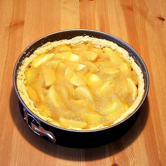 Veganer Apfelkuchen Zubereitung