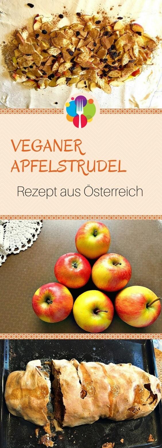 Veganer Apfelstrudel