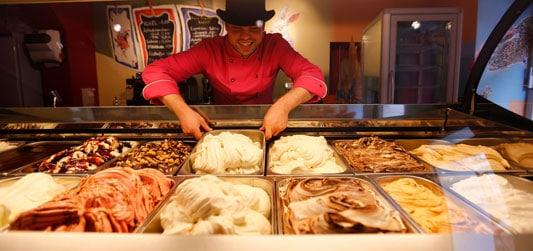 Vegane Cafés & Eisdielen - Veganes Eis Muenchen der verrückte Eismacher