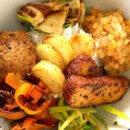 vegane Bowl zum Selbermachen