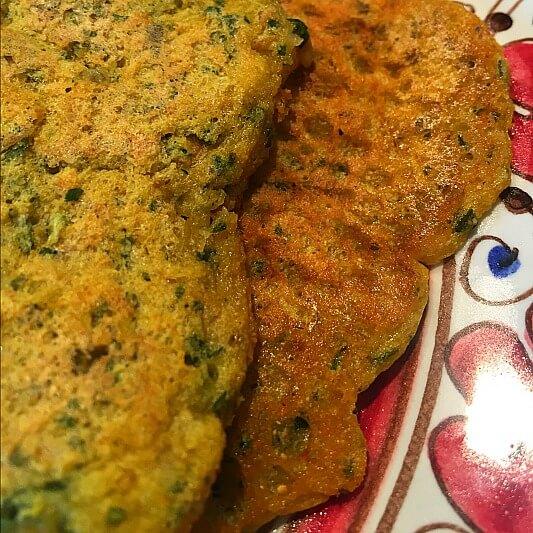 Kichererbsen Omelette Vegane Frühstücksideen