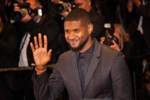 Usher vegan