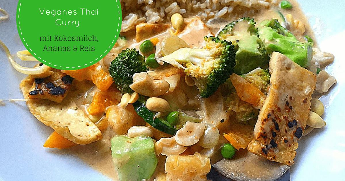 Veganes Thai Curry