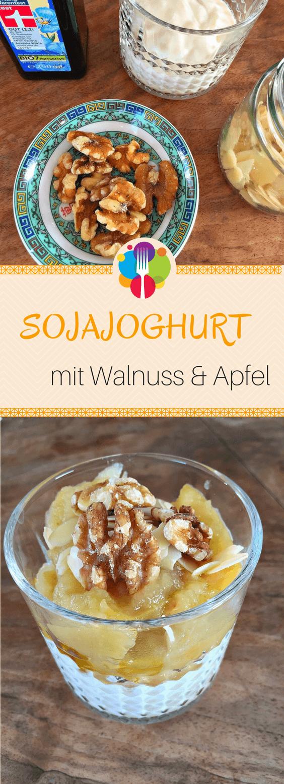 Soja Apfel Walnuss