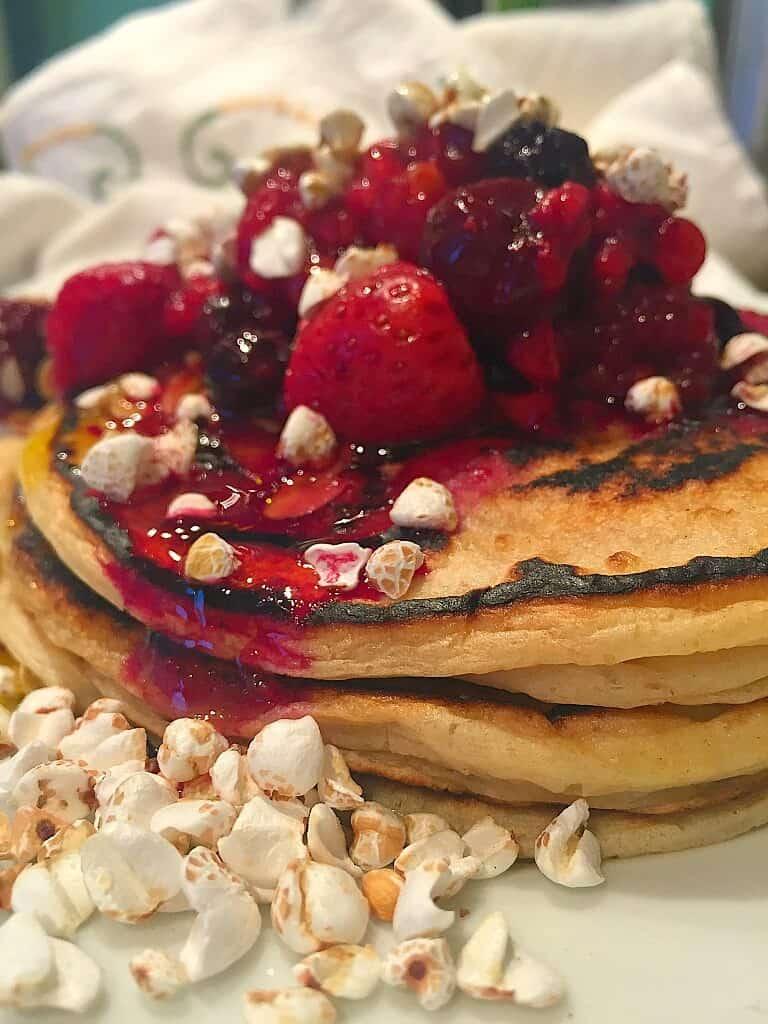 Vegane Pancakes ohne Milch Frühstück Rezepte