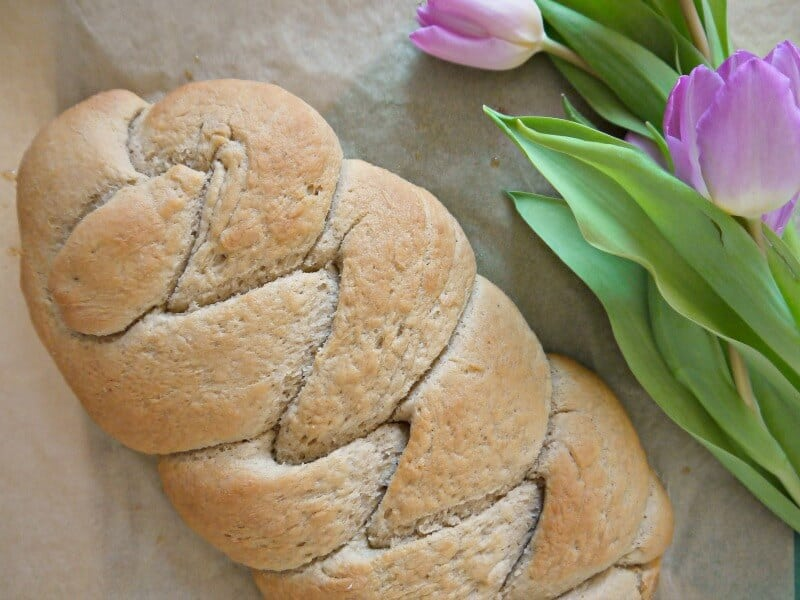 Hefezopf vegan backen Rezept