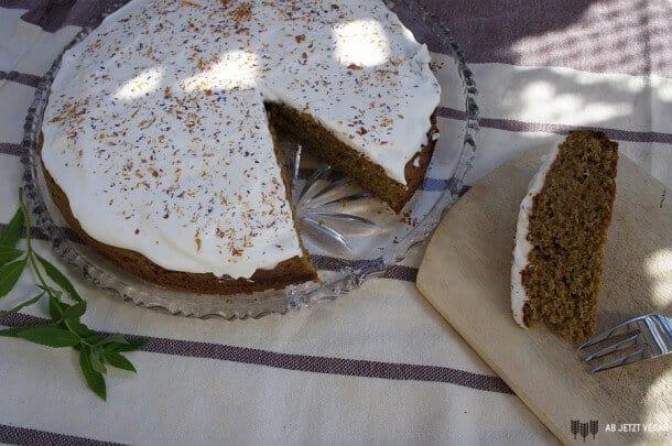 Matcha Kuchen vegan