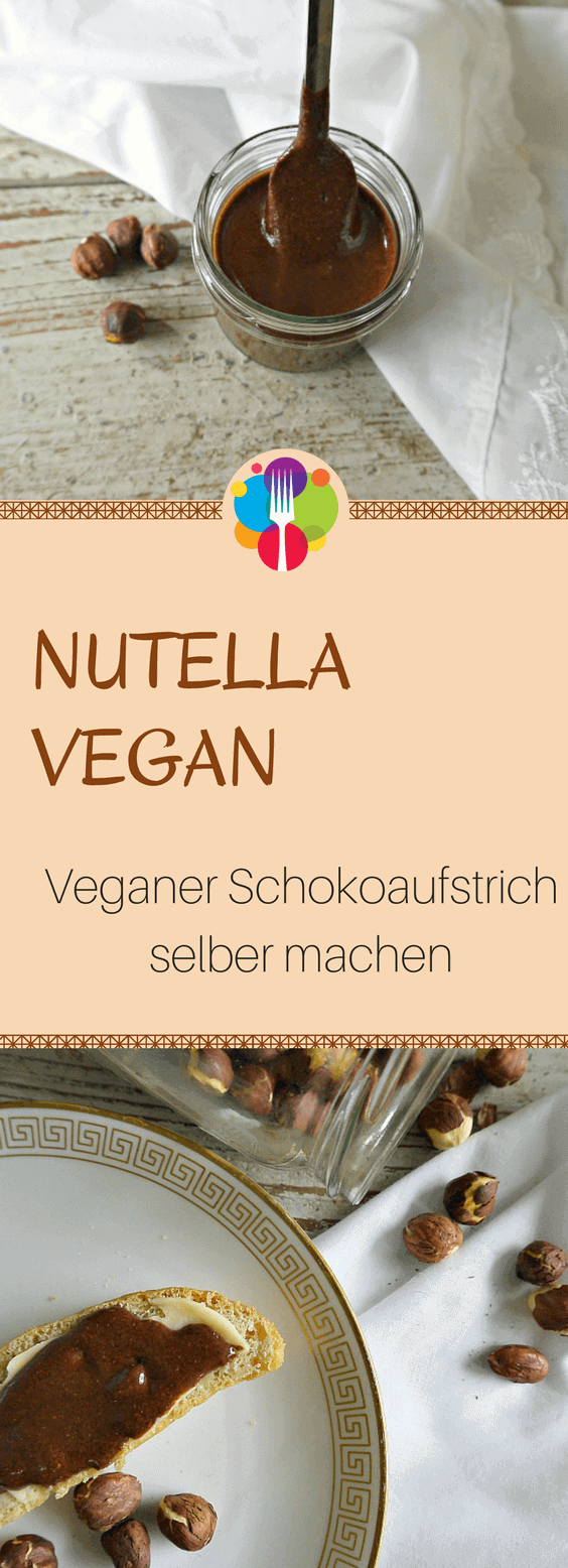 nutella vegan selber machen vegane schokocreme ohne zucker. Black Bedroom Furniture Sets. Home Design Ideas