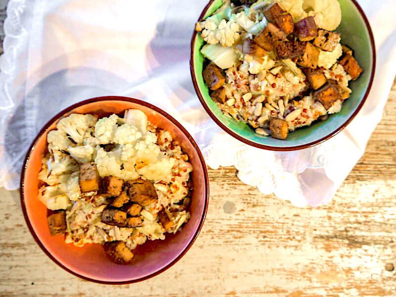 Rezept Quinoa Salat vegan