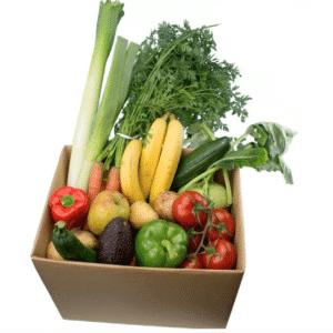 Sparset grosse Obst und Gemuesekiste