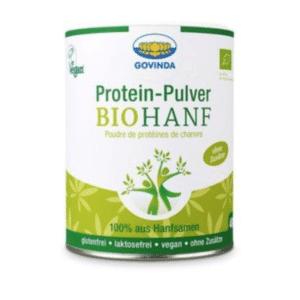 Protein-Pulver-Hanf