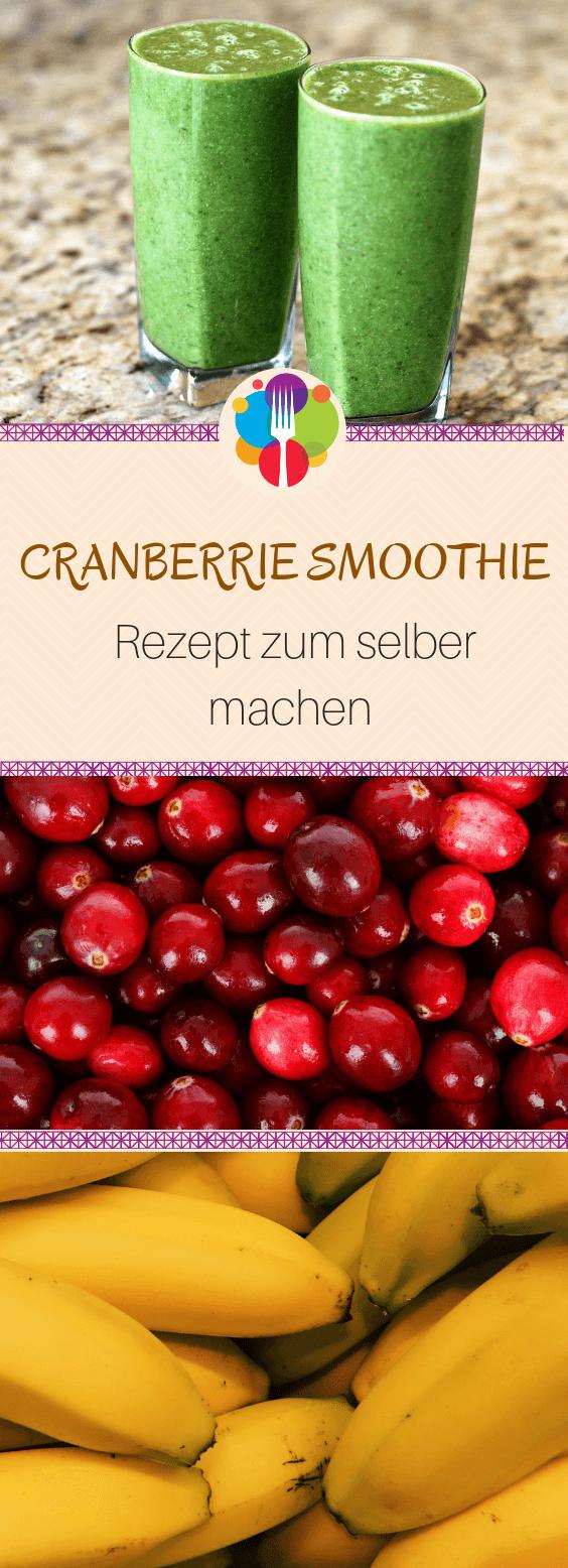 Cranberry Smoothie - gruen