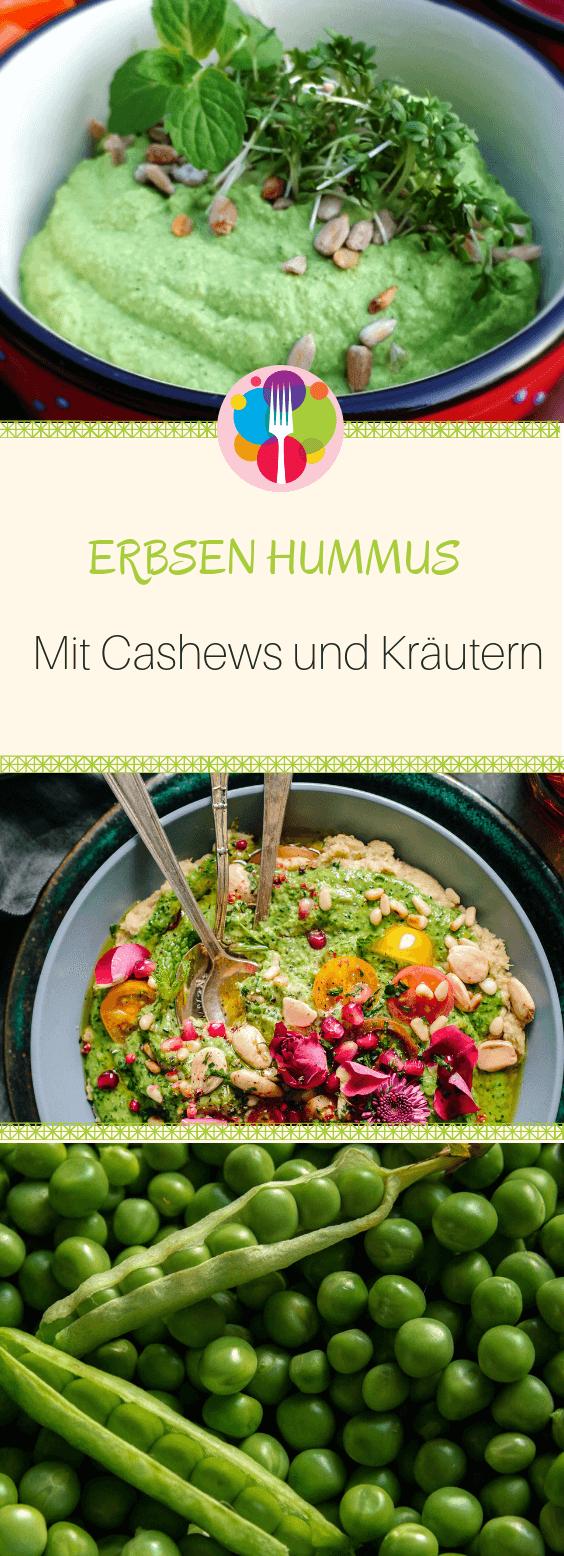 Erbsen Hummus