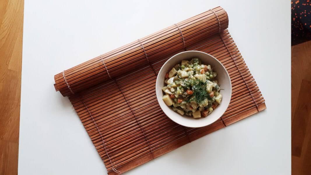 Kartoffelsalat mit Mayo