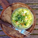 Kartoffelsalat mit veganer Mayonnaise