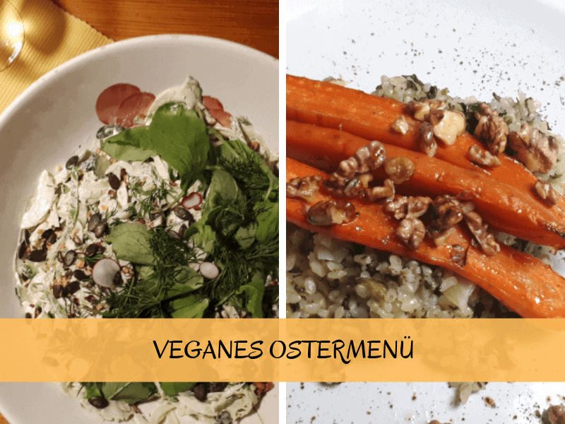 Ostermenue vegan