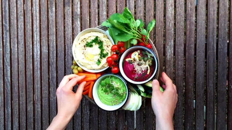 Vegane Aufstriche Hummus