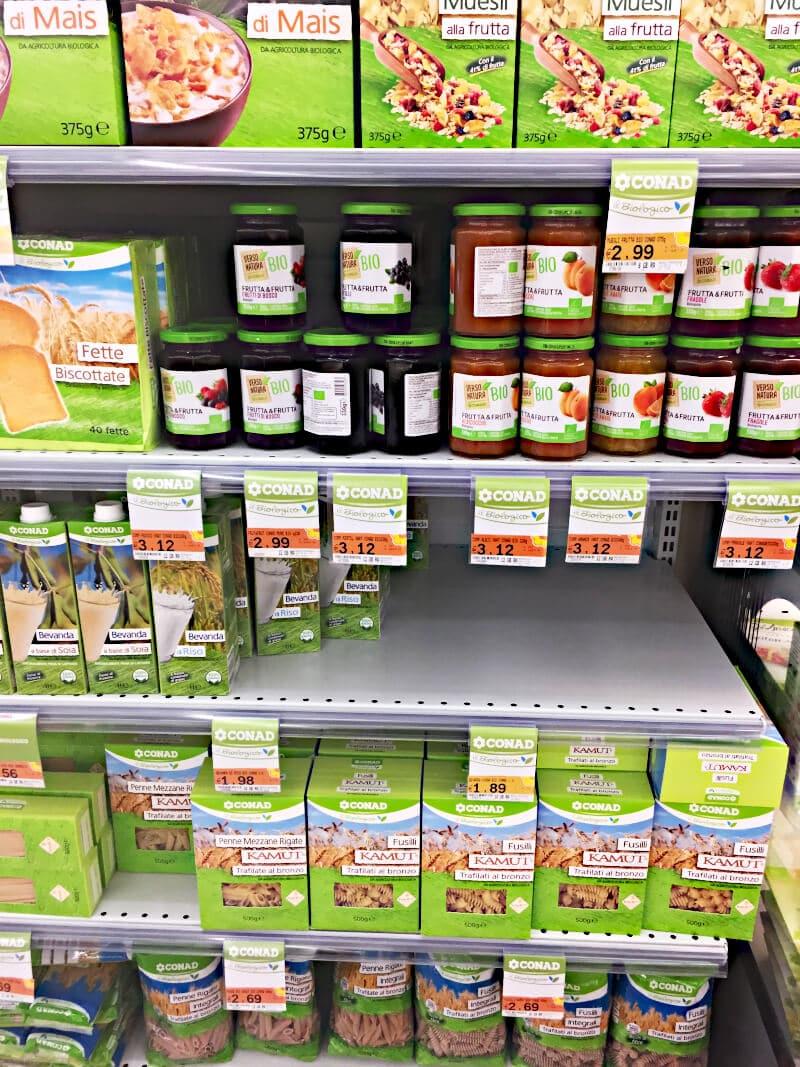 Eurospin - vegan einkaufen