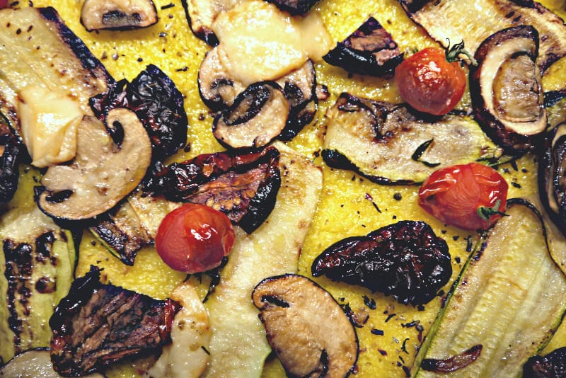 Polenta Pizza Rezept