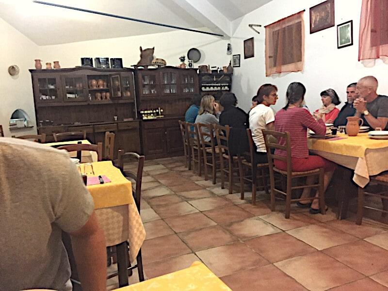 Veganes Restaurant il refugio coloritze saal