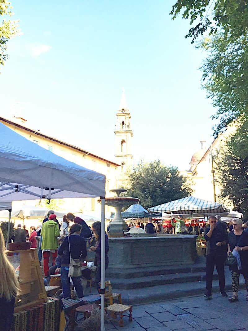 Markt regional Florenz