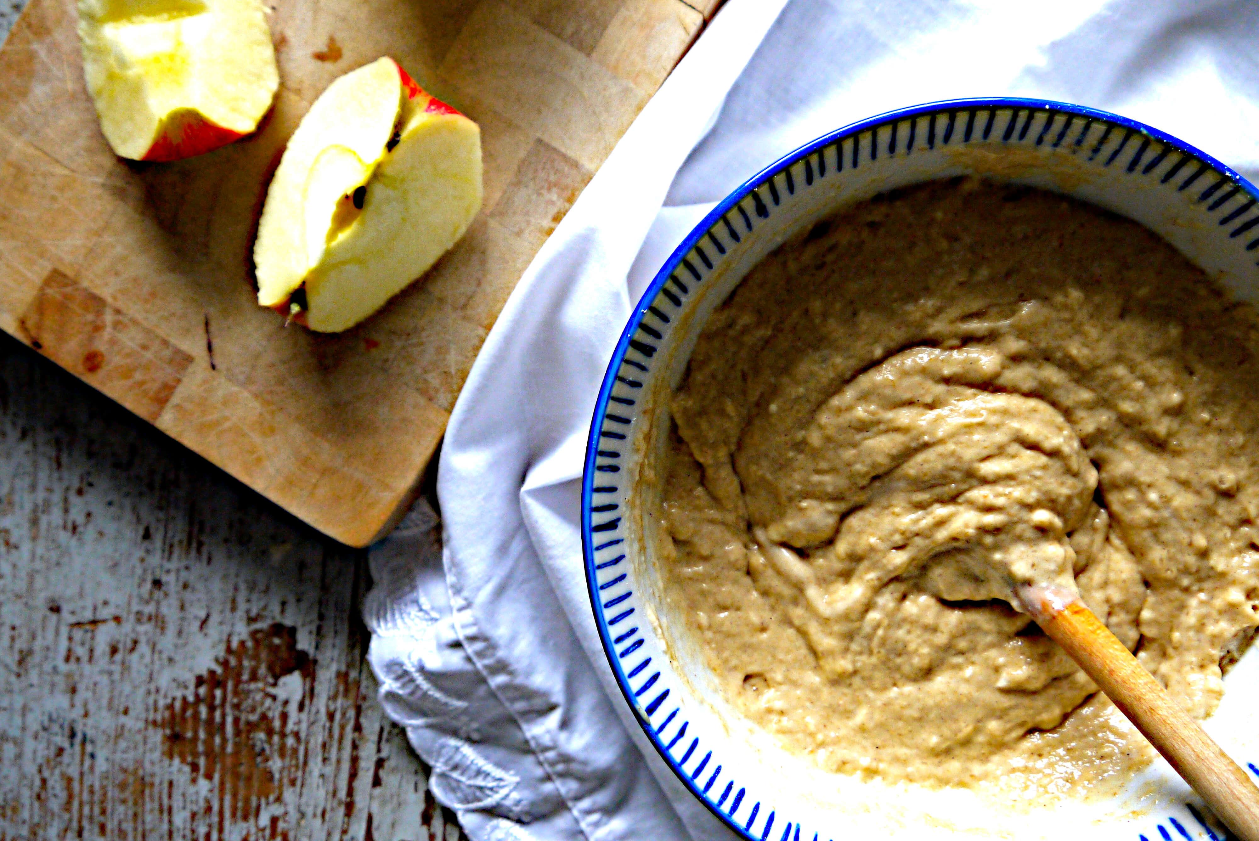 Apfel muffins vegan