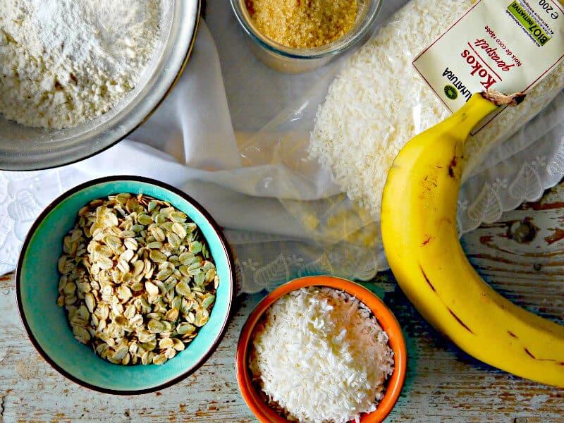 Rezept vegan Bananenmuffins
