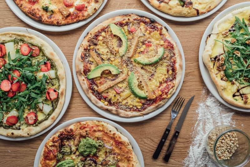 Vegane Pizza Hamburg