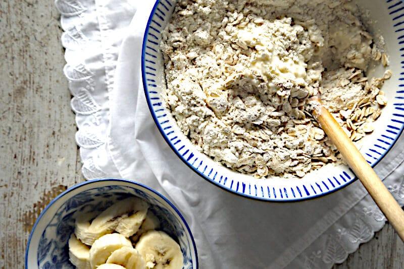 vegan Bananenmuffins